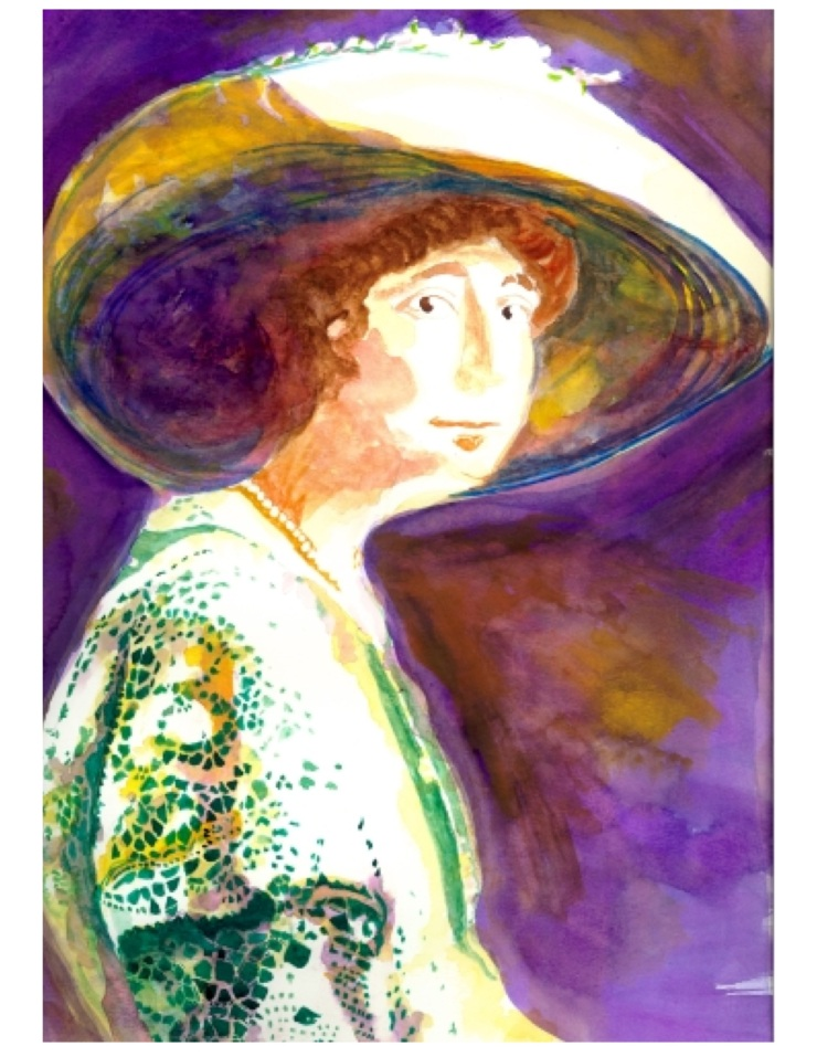 Jeannette Rankin Painting