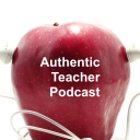 Authentic Teacher Podcast Apple w/Headphones