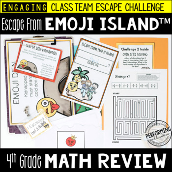 https://www.teacherspayteachers.com/Product/Escape-from-Emoji-Island-4th-Grade-Math-Escape-Room-Great-End-of-Year-Review-3584393